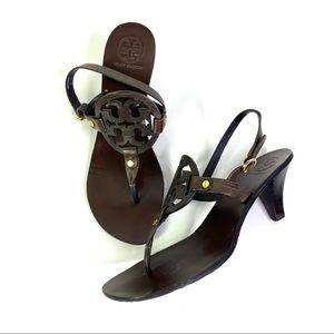 Tory Burch Holly Slingback Sandal Kitten Heel